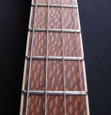 Leopard wood make this a very different beast
