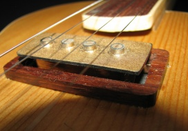 Custom pickup, voiced for bell tones